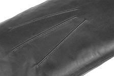 Мужские варежки из натуральной кожи модель 105 на подкладке из натурального меха, фото 2