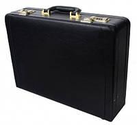 Мужской кейс дипломат из кожзаменителя Villado Черный  SS50-585, КОД: 1275955