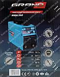 Сварочный аппарат Grand ММА-360 (360 А, дисплей), фото 8