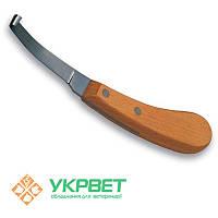 Нож для копыт Kruuse левый или правый (широкое лезвие)