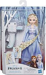 Холодное сердце 2 Кукла Эльза с аксессуарами для волос Disney Disney Frozen 2  Sister Styles Elsa