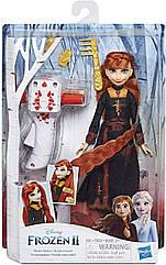 Холодное сердце 2 Кукла Анна с аксессуарами для волос Disney Frozen 2 Sister Styles Anna Fashion