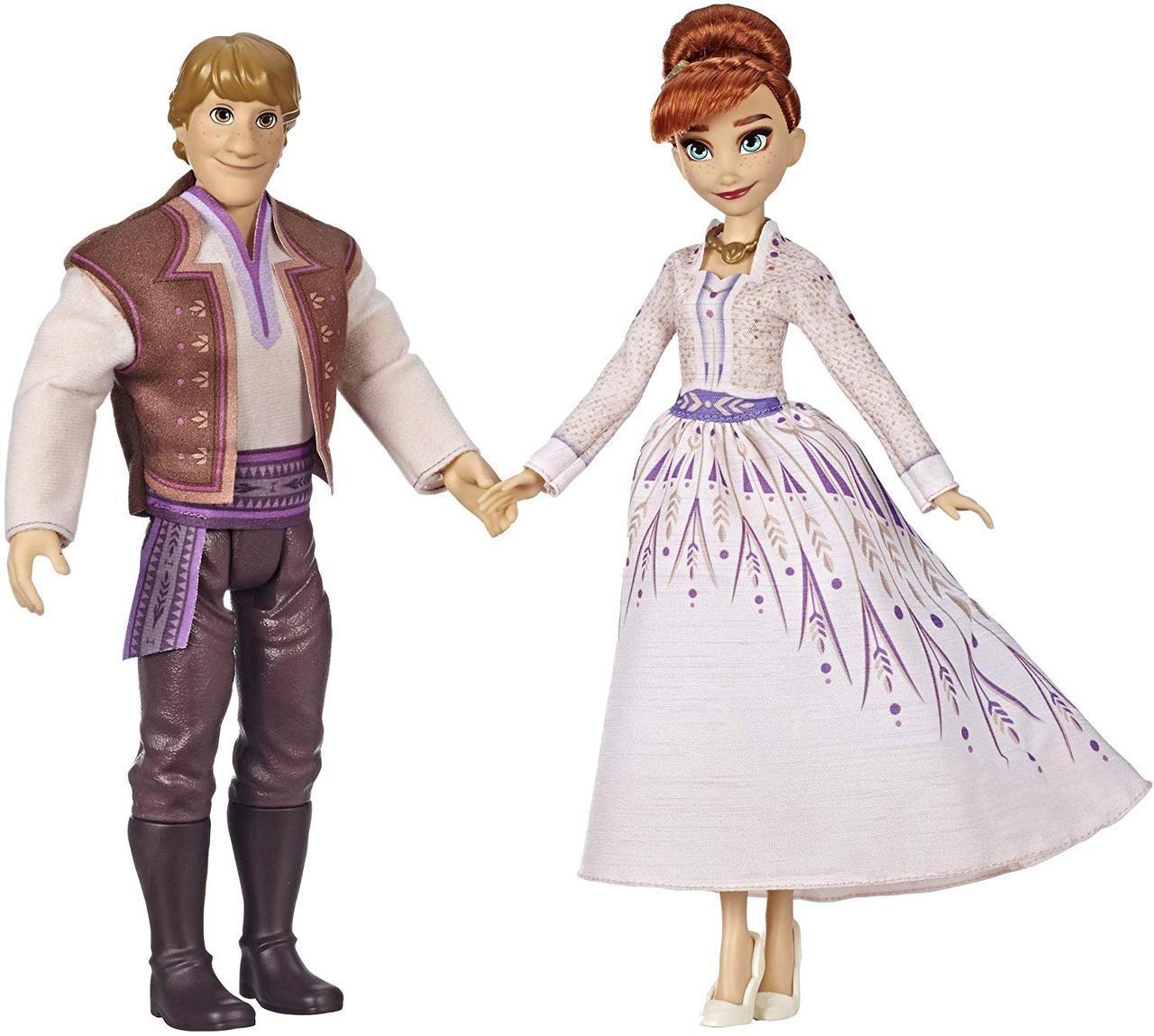 Холодное сердце 2 Кукла Анна и Кристоф Хасбро Disney Frozen 2 Anna and Kristoff