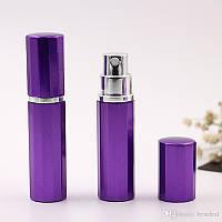 Флаконы для наливной парфюмерии и духов Барбара фиолетовый, туалетные воды, парфюмированная вода, флаконы, баночка