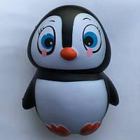 Игрушка - антистресс сквишь Squishy пингвин большой, от 5 лет, полиуретан, Сквиши, Игрушка антистресс, Squishy, Squishy Toys