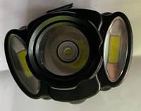 Налобный фонарь Bailong Police BL-C936 USB, от аккумулятора, три режима, COB, Светодиодный фонарь, фото 1