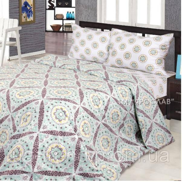 Комплект постельного белья 5 предметов Сатин