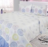 Хлопковое постельное белье семейный сатин Ярослав