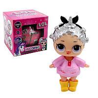 Мини - кукла LOL UNICORNIO Серия 15 модель 89015-2 в розовом платье, куклы, Lol, оригинальные куклы лол, большое яйцо лол