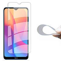 Гибкое защитное стекло 2.5D Nano (без упаковки) для Xiaomi (Сяоми) Redmi 8 / 8A