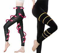 Корректирующие колготы леггинсы Slimming PANTS черные, корректирующие и утягивающие колготы, утягивающее белье для живота