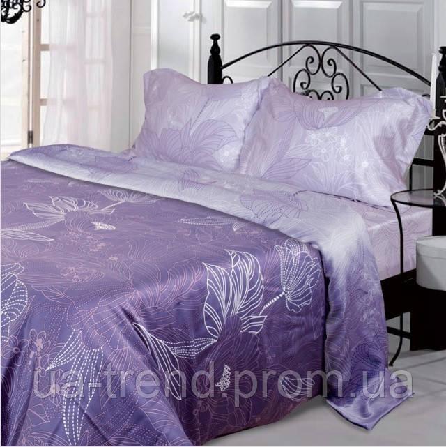 Бамбуковое постельное белье евро 220х240 Ярослав