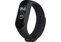 Фитнес браслет Xiaomi Mi Band M4 реплика, Bluetooth, черный, 90мАч, iOS/Android, пульсометр, фитнес-браслеты, Mi band 4