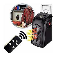 Портативный обогреватель Handy Heater черный, с пультом, 350W, два режима, от 15 до 32°C, автоматическое, обогреватель