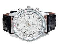 Ручные мужские часы Valia 8208 циферблат белый, кварц, PU кожа, календарь, Наручные кварцевые часы, Наручные часы