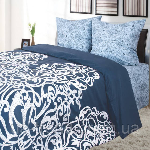Комплект постельного белья Сатин евро 220х240