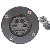 Лазерный проектор Star Shover Snowflake № WP1 до 15м, IP65, от сети 220В, лазерный проектор, проекторы для дома