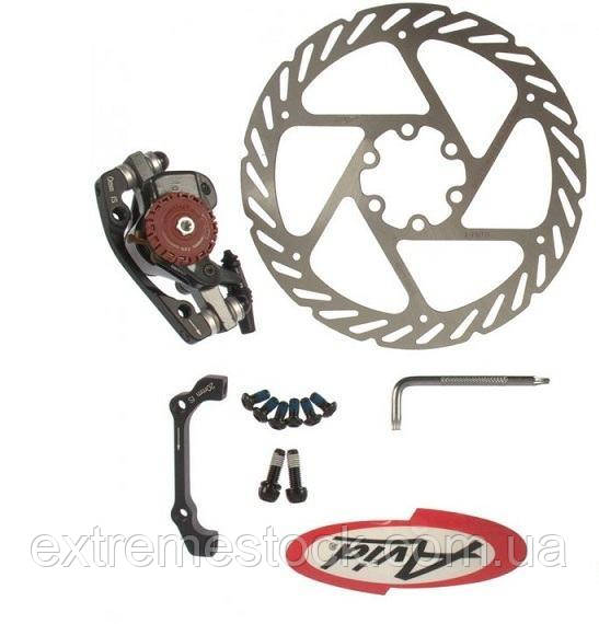 Механический дисковый тормоз Avid BB7 MTN, + ротор Avid G2CS 180 мм, оригинал