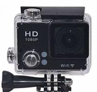 Спортивная водонепроницаемая камера Action Camera DVR S2 Wi Fi, 4K, черная, 16Mp, циĸличнaя запись, экшн-камера, Action camera