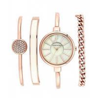 Женские часы в подарочной упаковке Anne Klein Rose/Gold, кварцевые, сталь, стрелочные, часы, ручные часы