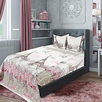 Двуспальное постельное белье Бязь Ярослав Эйфелева башня