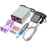 Машинка для маникюра и педикюра фрезер Beauty nail NN скорость 25000об/мин, шесть насадок, 30Вт, машинки для педикюра