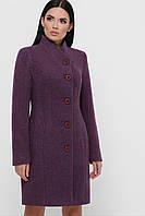Женское зимнее шерстяное пальто классического кроя