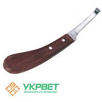 Нож копытный правый или левый (узкое лезвие)