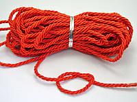 Веревка крученая, шнур канатной свивки  2,5 -5 мм