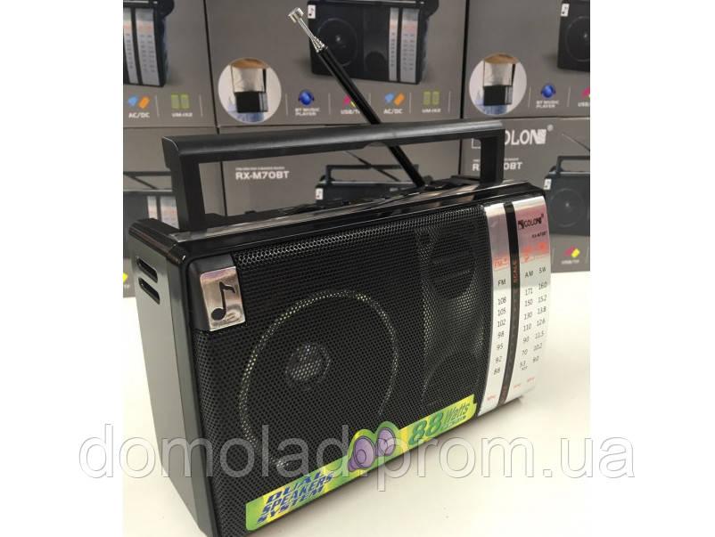 Радио Радиоприемник Всеволновой Магнитофон Golon RX-M70BT