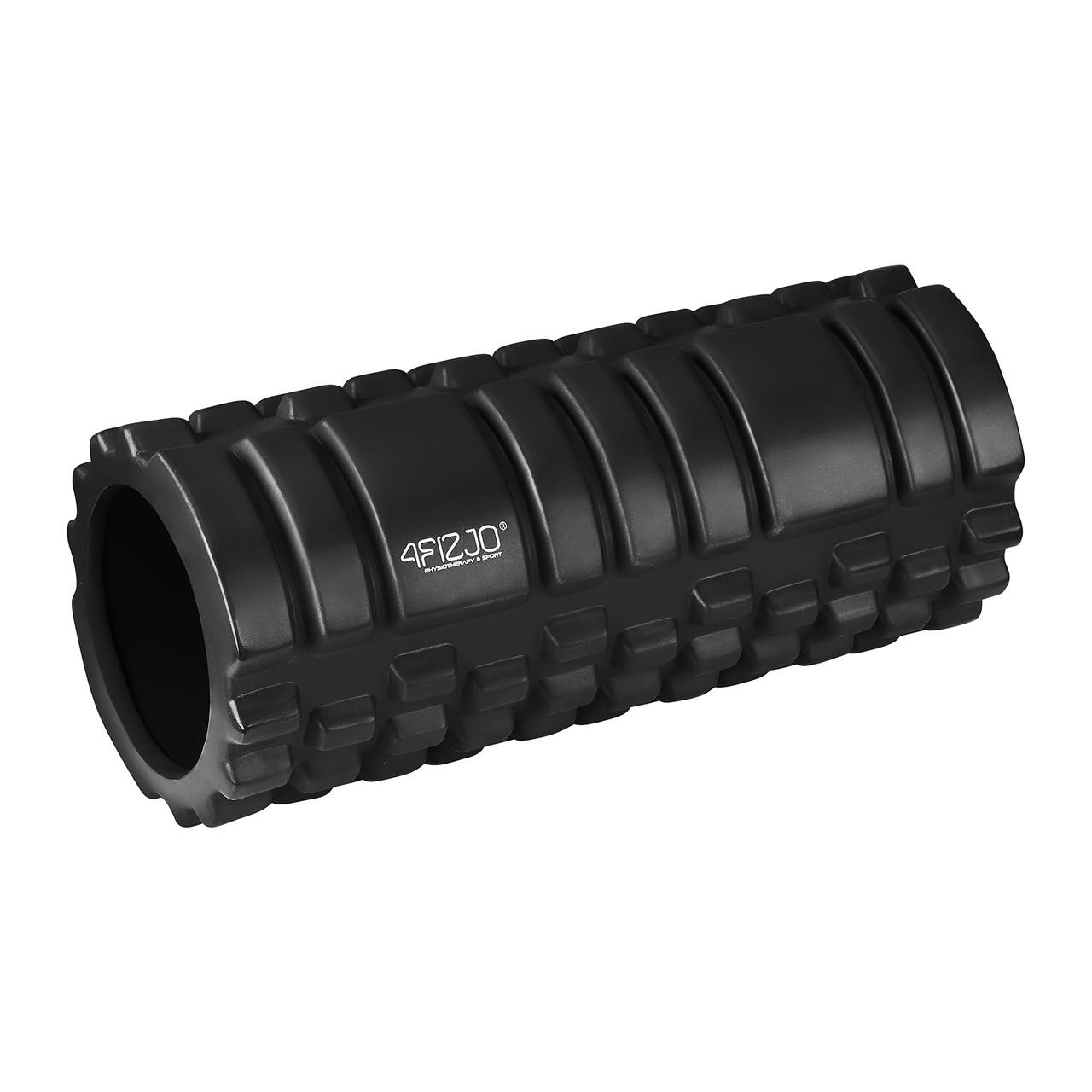 Масажний ролик (валик, роллер) 4FIZJO 33 x 14 см 4FJ0025 Black