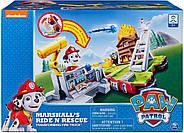 Paw Patrol Щенячий Патруль Маршал на пожарной машине трансформере ОРИГИНАЛ от spin master, фото 2