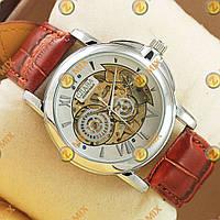 Часы Слава Brown/Silver