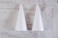 Набір пінопластових фігурок Конус, 2шт/уп., 150 mm Santi