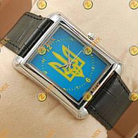Часы Украина Silver/Blue