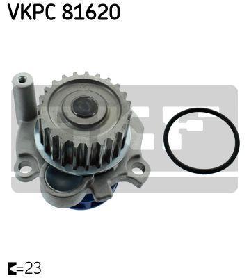 Водяная помпа VW GOLF V (1K1) / AUDI A4 (8D2, B5) / AUDI A6 Avant (4B5, C5) 1994-2015 г.