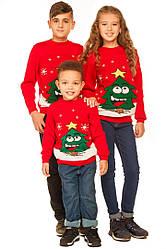 Детские свитера с тематикой новый год