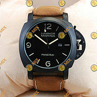 Panerai Officine 1860 Black/Black-milk