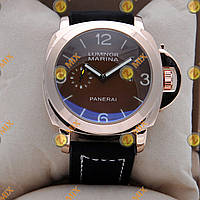 Часы Panerai Officine  Gold/Black-white