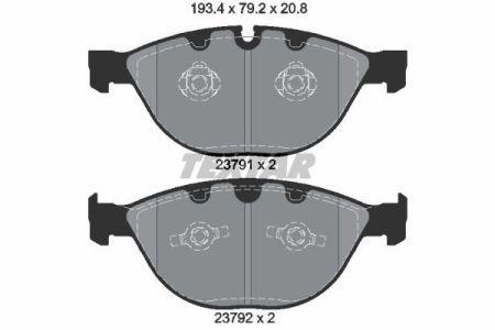 Тормозные колодки дисковые ROLLS-ROYCE PHANTOM VII Drophead Coupe (RR2) 2001-2017 г.
