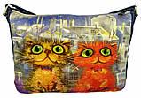Джинсовая сумка СЛАДКАЯ ПАРОЧКА, фото 6