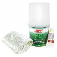 Комплект ремонтный  APP  смола + ткань 0,25 кг