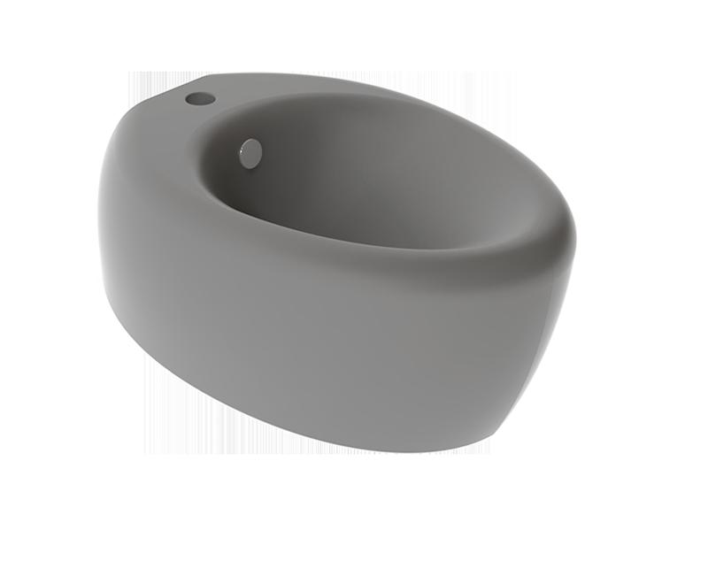 Підвісне біде GSG TOUCH 55 см matt Cement (TOBISO020)
