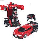 Радиоуправляемая машинка-трансформер Большая Transforms Changeable Lamborghini Красная 1 к 12, фото 2