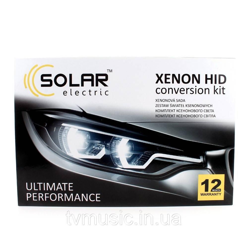 Комплект ксенона SOLAR H1 5000K 35W Ballast 4150