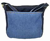 Джинсовая сумка КОТЕНОК С БАБОЧКОЙ, фото 5