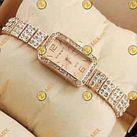 Часы King girl diamond Pink gold/Pink