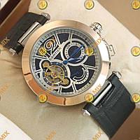Часы Cartier calibre de cartier Gold/Black-white