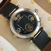 Часы Cartier de cartier Silver/Black