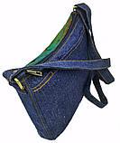Джинсовая сумка АЛЫЕ ПАРУСА, фото 4